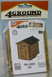 4Track OOTE110 Small Garden Shed - half price!